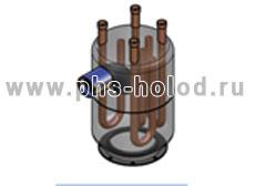 Отделитель жидкости теплообменник Пластины теплообменника Теплохит ТИ P02 Липецк