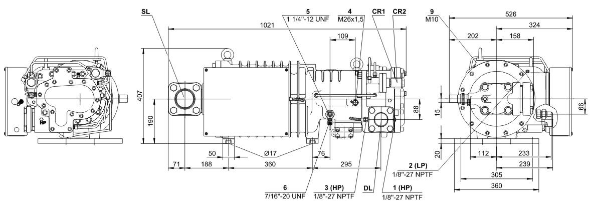 регулирование холодопроизводительности винтового компрессора термобелья